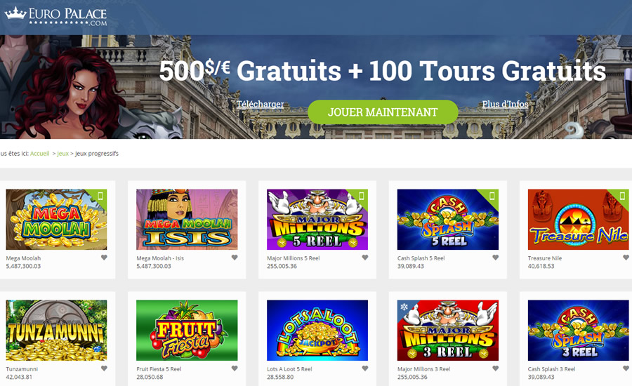 grand fortune casino euro french