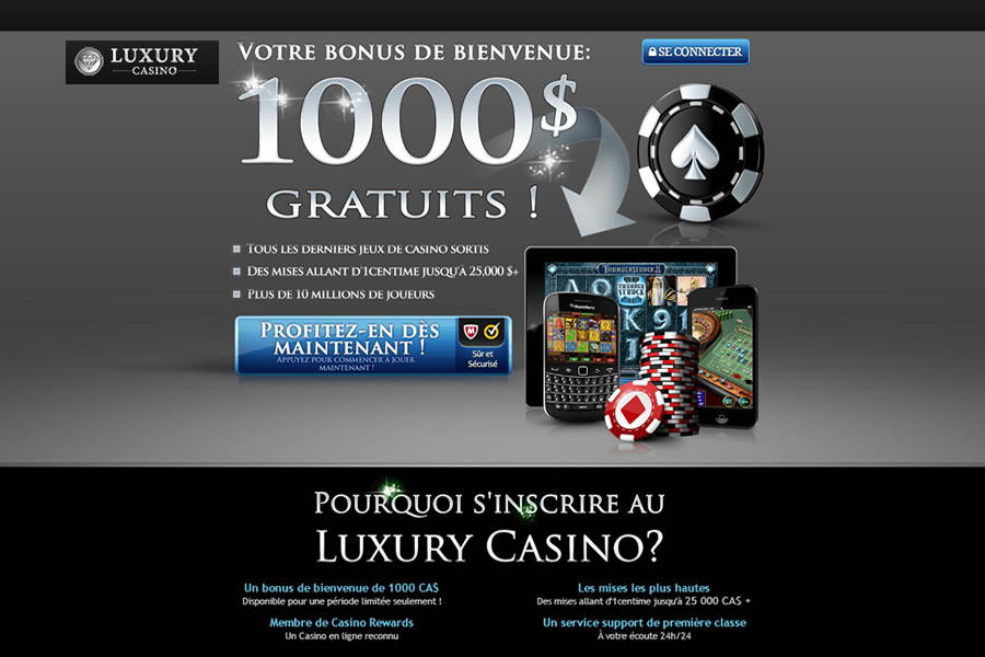 Luxury Casino Mobile en Français