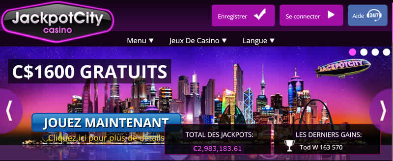 Jackpot City Casino - Machine à Sous